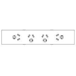 Floor Outlet Box 2 Power 3...