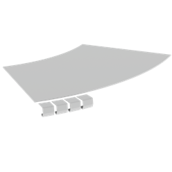 DESK GROMMET 60mm - BLACK