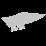 DESK GROMMET 60mm - BLACK
