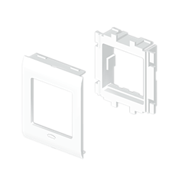 LOCKOUT SAFETY HASP 25mm ID (NYLON COATED) RED