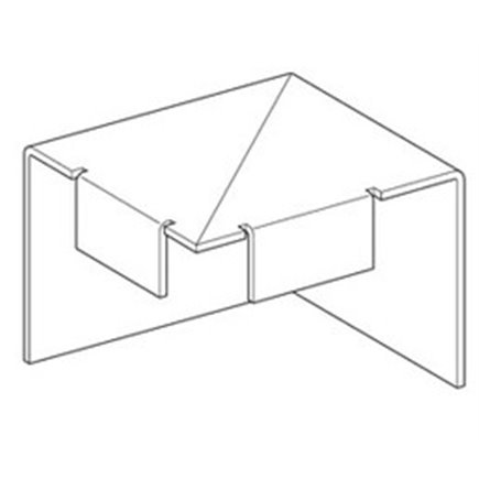 EZP 233 2 Wall Mounting Plates to suit EZDP 33
