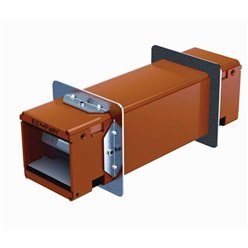 Floor Outlet Box 8 Power Plastic Recessed Lid Provision for 8 Data