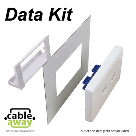 Floor Outlet Box 1 Standard GPO Brass Flush 145 Series