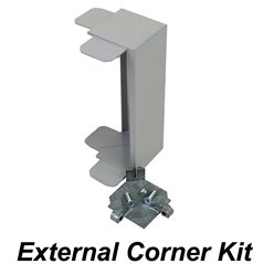 1 x 2mtr  Surface Mounted PVC trunking