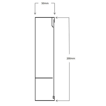Floor Outlet Box 1 Standard GPO Stainless Steel Flush Square Edge  145 Series