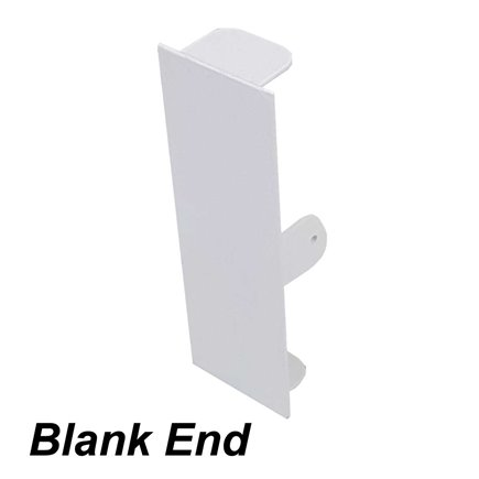 1 x Mainline Premium Double USB Socket White