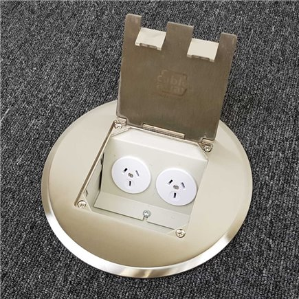 Quick Fit Auto Switched  Outlet with USB (Black)