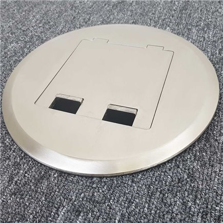Quick Fit Auto Switched  Outlet with USB (Grey)