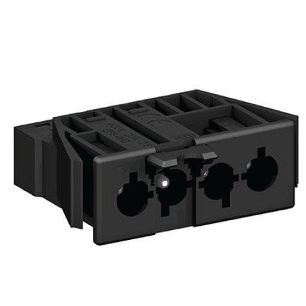 1 x Mainline Right Hand Terminal Block Black