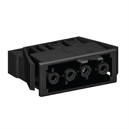 1 x Mainline Left Hand Terminal Block Black
